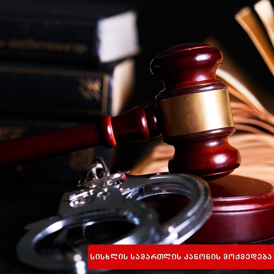 სისხლის სამართლის კანონის მოქმედება საქართველოს ტერიტორიაზე ჩადენილი დანაშაულის მიმართ