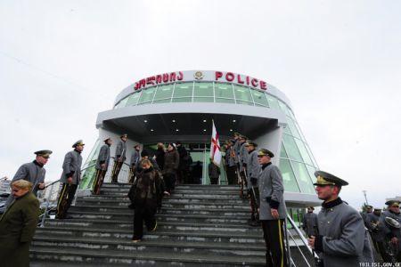 გლდანი–ნაძალადევის რაიონში პოლიციის ახალი შენობა გაიხსნა