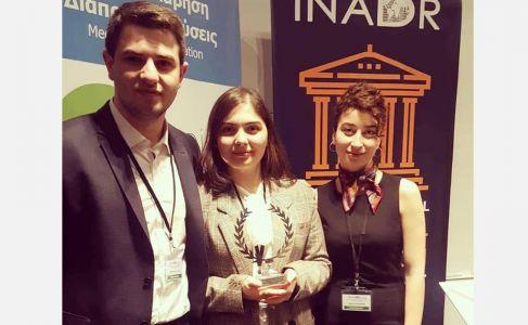 საქართველოს უნივერსიტეტის სამართლის სკოლის გუნდმა საერთაშორისო მედიაციის კონკურსში (INADR) მეორე ადგ
