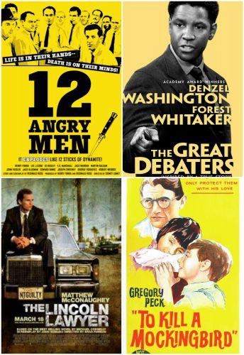 საუკეთესო ფილმები სამართალსა და იურისტებზე